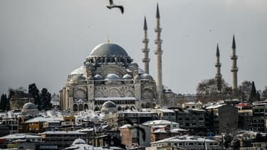 La mosquée Süleymaniye à Istanbul