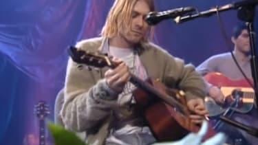 Kurt Cobain en 1993