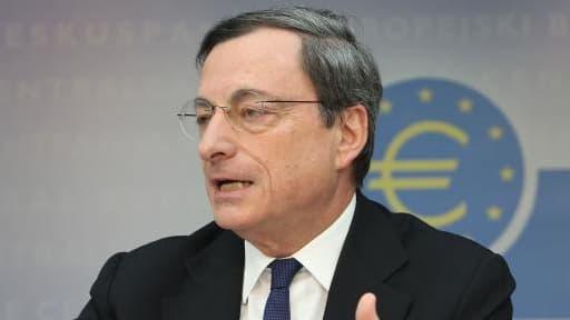 Mario Draghi ne s'est pas alarmé du faible niveau de l'inflation.