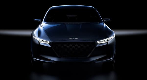Une concurrente à la BMW Série 3, c'est la promesse future de Genesis.