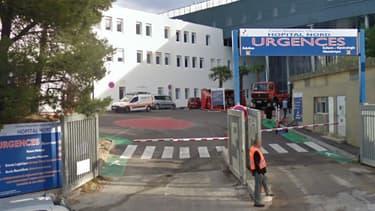 Les urgences de l'hôpital Nord à Marseille, où le jeune homme de 21 ans a été déposé ce vendredi grièvement blessé.