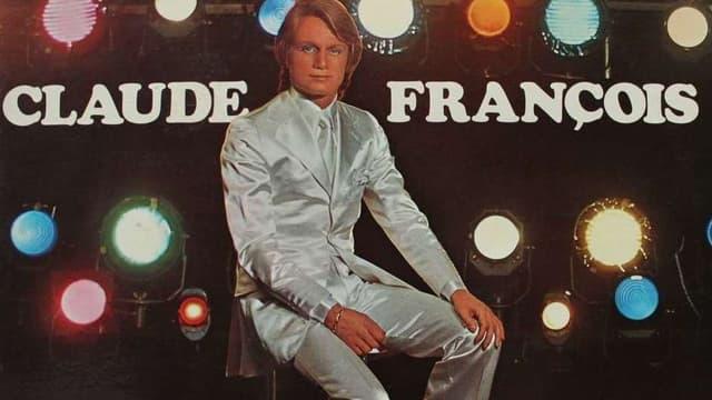 """Claude François sur la pochette de son single """"Le lundi au soleil"""""""