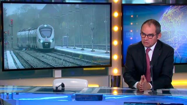 Patrick Jeantet, le PDG de SNCF Réseau, était l'invité de Stéphane Soumier dans Good Morning Business.