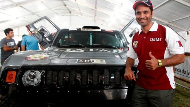 Nasser Al-Attiyah, vainqueur l'année dernière