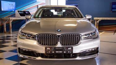 Cette BMW est dotée d'une vision signée MobilEye et d'une intelligence créée par Intel