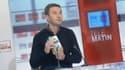 Olivier Besancenot, sur le plateau de Télé Matin
