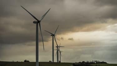 Le champs d'éoliennes au nord de Pithiviers est composé de 16 pylônes (image d'illustration)