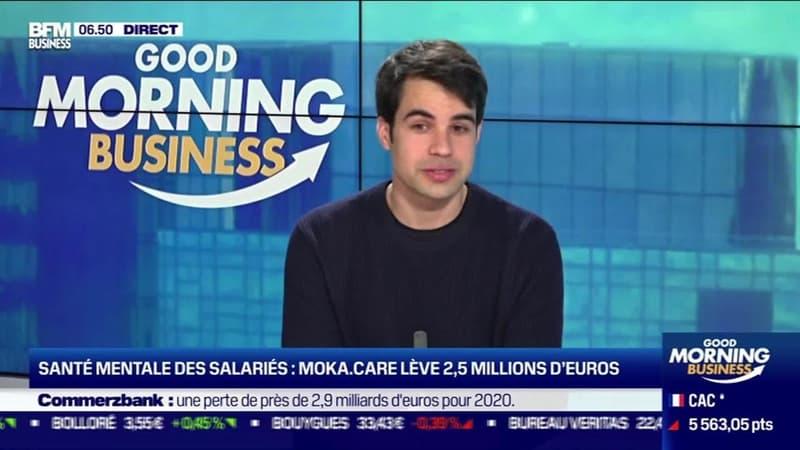 Pierre-Etienne Bidon (Moka.care ) : Santé mentale des salariés, Moka.care lève 2,5 millions d'euros - 04/02