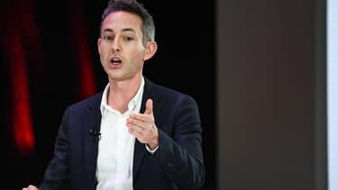 Ian Brossat lors d'un débat le 11 avril 2019 à Paris.