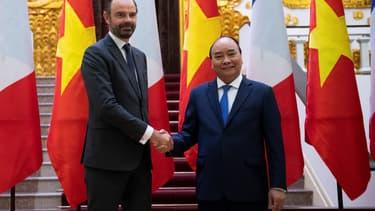 Edouard Philippe est actuellement en visite au Vietnam.