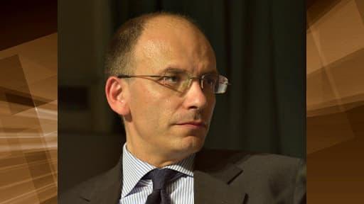 Enrico Letta, numéro deux du Parti démocrate (centre-gauche)