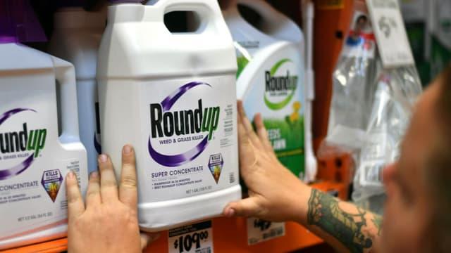 Le glyphosate est un des principes actifs du Roundup.