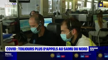 Covid-19: augmentation des appels au Samu du Nord, mais les médecins se veulent rassurants