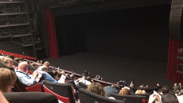 La très belle salle du Grand Théâtre Lumière, dans le Palais des festival.