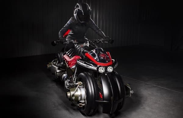 La Lazareth 496 en version moto