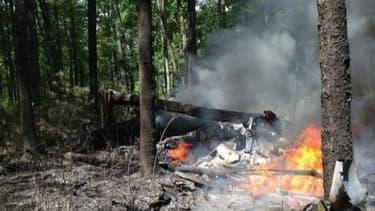 La collision d'une rare violence entre un avion F-16 de l'armée américaine et un avion de tourisme Cessna a tué deux civils.