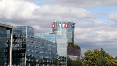 Les locaux du groupe TF1, à Boulogne-Billancourt, le 4 septembre 2017.