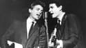 Les Everly Brothers: Phil (à gauche) et Don (à droite) en 1964
