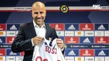 """OL : Bosz veut """"un pressing constant de ses joueurs"""""""