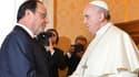 François Hollande a rencontré le pape François ce vendredi matin.