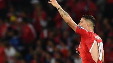 Au moins quatre joueurs suisses ont vu leur maillot déchiré lors de la rencontre face à l'équipe de France.