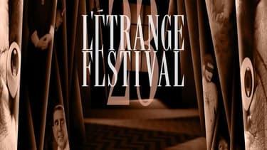 Affiche de la 23e édition de l'Étrange Festival