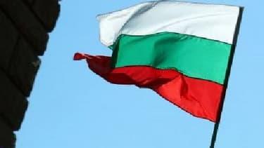 Un drapeau bulgare - Image d'illustration