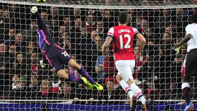 Le but d'Aaron Ramsey face à Liverpool