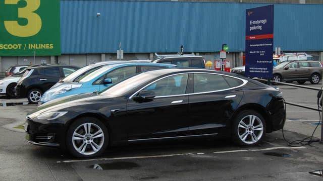 Une voiture sur trois vendue en Norvège l'an dernier était une voiture électrique.