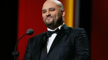 Jérôme Commandeur lors de la 41ème cérémonie des César en 2016 au Théâtre du Châtelet