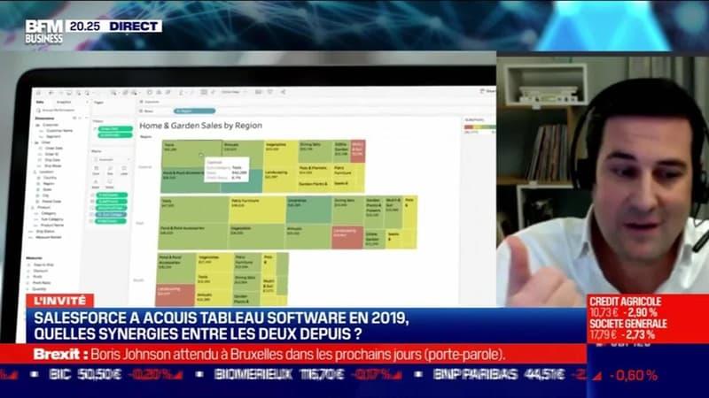 Édouard Beaucourt (Tableau Software) : Quelles synergies entre Salesforce et Tableau Software depuis le rachat de ce dernier en 2019 ? - 07/12
