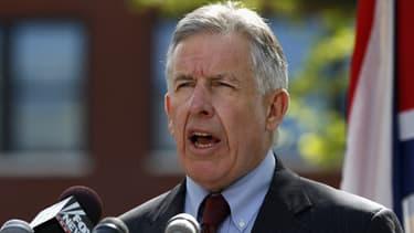 Le procureur du Comté de Cuyahoga, Timothy J. McGinty, donne une conférence de presse à Cleveland le 9 mai 2013.