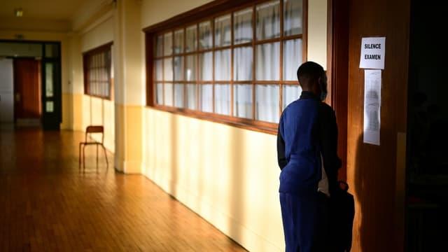 Image d'illustration - un lycéen un jour d'examen