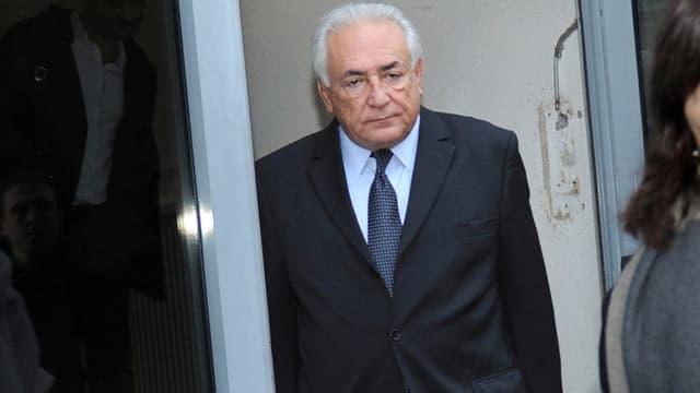 Dominique Strauss-Kahn, mercredi, au second jour de son audition face à la cour, dans le procès du Carlton de Lille.