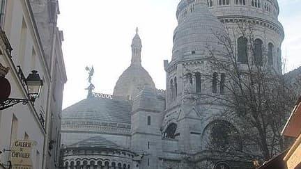 La butte Montmartre avec le Sacré-Coeur