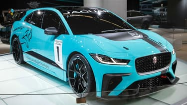 Le nouveau jaguar I-Pace eTrophy
