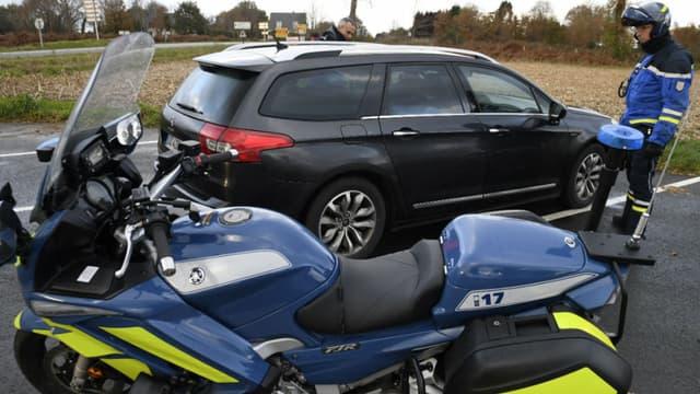 Le contrôle routier a eu lieu dans le Gard. (Photo d'illustration)
