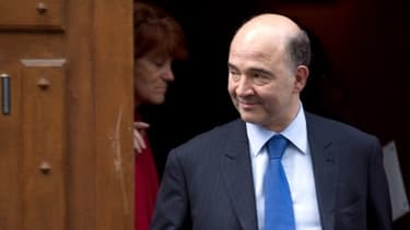 """Pierre Moscovici """"ne fait pas campagne"""" pour être élu à la présidence de l'Eurogroupe"""