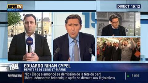 Eduardo Rihan Cypel face à Laurent Neumann