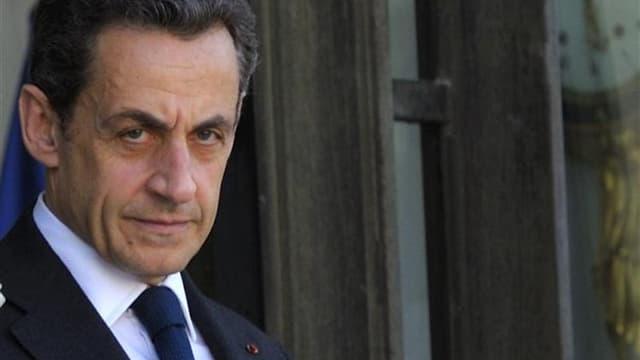 """Selon des politologues, Nicolas Sarkozy continue d'incarner le """"leadership"""" de la droite que se disputent François Fillon et Jean-François Copé, alors que l'ancien chef de l'Etat pourrait revenir en politique pour la présidentielle de 2017. /Photo prise l"""