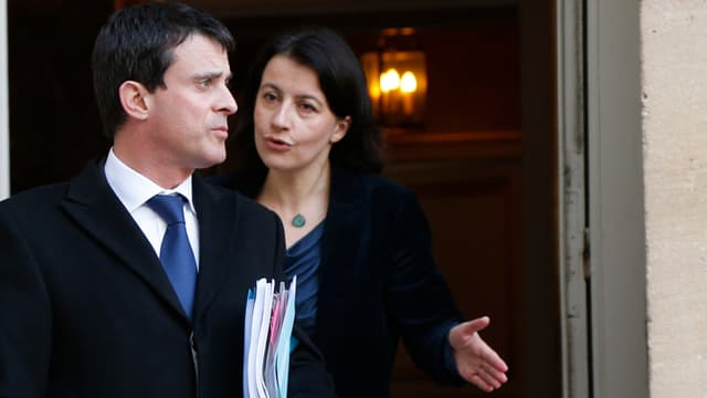 Manuel Valls et Cécile Duflot