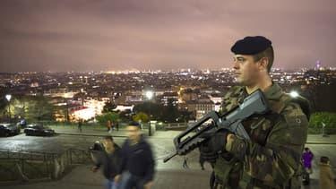 Des militaires ont été appelés en renfort à Paris.