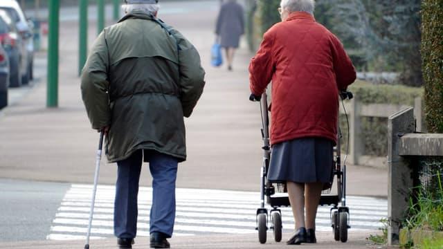 La retraite moyenne d'un salarié du privé s'élève à 1086 euros.