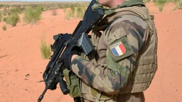 Un soldat de la Force Barkhane au Mali (Photo d'illustration)