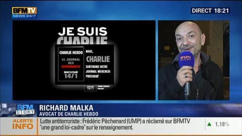 BFM Story: Charlie Hebdo: les rescapés préparent le prochain numéro - 12/01