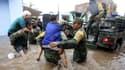 L'armée en train d'évacuer des habitants dans la ville de Tlaquepaque au Mexique le 3 septembre 2021 en raison des inondations. (Photo d'illustration)
