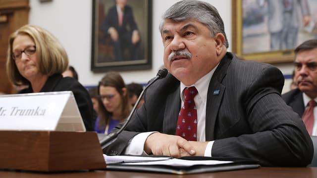 Richard Trumka, en février 2017.
