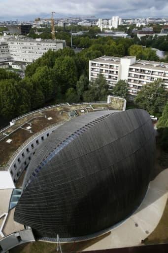 La nouvelle cathédrale de Créteil, près de Paris, le 14 septembre 2015