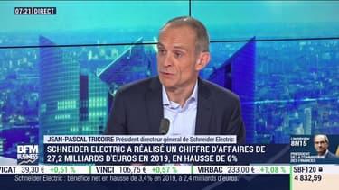 Jean-Pascal Tricoire, le PDG de Schneider Electric