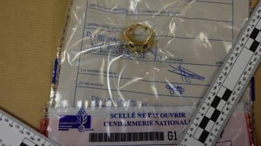 Une bague répertoriée sur le site créé par la gendarmerie, attend que son propriétaire se manifeste.